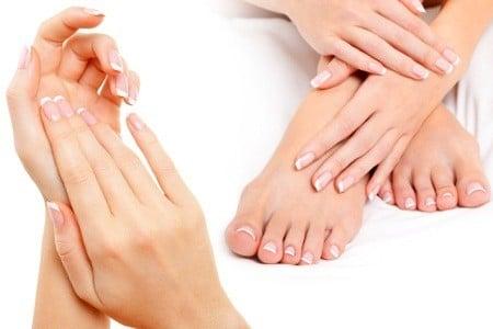Main et pieds